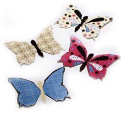 הפקת דפוס בצורת פרפרים