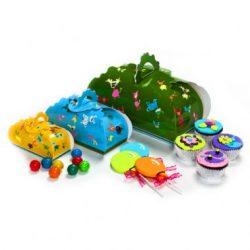 קופסואת צבעוניות בצבעים עזים לילדים